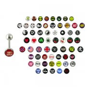 Logos Mega Pack - Surgical Tongue Barbell <B>($0.45 Each)</b>